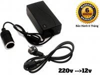 Bộ Nguồn Adapter 220v Ra 12v Đầu Cắm Ô TÔ - MSN388367