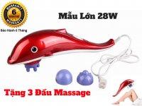 Máy Massage Đấm Bóp Đa Năng Dolphin PL-608A Loại Lớn, Máy Massage Cá Heo đa năng + Tặng Đầu Massage - MSN388129