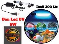 Đèn Led UV 5W Diệt Tảo Diệt Khuẩn Bể Cá Cảnh Dưới 300 Lít