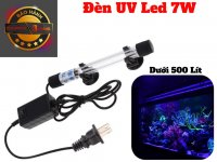 Đèn UV Led 7W Khử Mùi Diệt Khuẩn Tảo Bể Cá Dưới 500 Lít