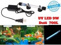 Đèn UV Led 9W Diệt Khuẩn Diệt Tảo Bể Cá Cảnh Dưới 700l