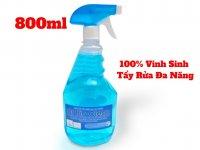Dung Dịch Tẩy Rửa Khử Mùi Sinh Học Đa Năng Dr Bio Clean 800ml