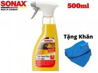 Dung Dịch Làm Sạch Đánh Bóng Nhanh Sonax High Speed Wax 288200