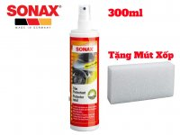 Bảo Dưỡng Nhựa Sonax Trim protectant Glossy 300ml Tặng Mút