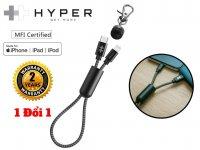 Cáp Sạc HyperDrive Keychain USB C to Lightning 18W MFI dài 0.2m