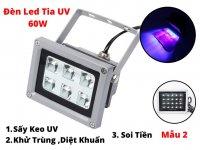 Đèn UV Sấy Keo UV 60W ,Đèn UV Soi Tiền UV Khử Trùng