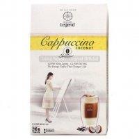 Cà phê Cappuccino Hương Dừa Coconut, Cafe Hòa tan Capuchino coconut Trung Nguyên - MSN181361