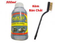 Combo Dung Dịch Tẩy Lốc Máy Pallas Kèm Bàn Chải Đồng 500ml