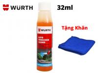Nước Vệ Sinh Kính Lái Đậm Đặc Wurth Rapid Windscreen Cleaner 32ML Tặng Khăn