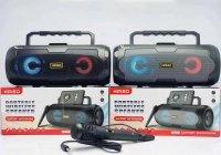 Loa Karaoke Mini KIMISO KM-S6 Âm Thanh Stereo, Tích Hợp Jack Cắm 6.5mm + Tặng Micro Có Dây - MSN181478