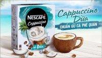 Cà Phê Hòa Tan Nescafe Cappuccino Vị Dừa 200g - MSN181511