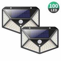 Đèn Cảm Biến Năng Lượng Mặt Trời 100 Led Ever - MSN181517