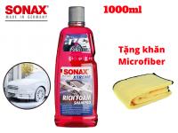 Nước Rửa Xe Siêu Bọt Sonax Xtreme Rich Foam Shampoo 1L Tặng Khăn Microfiber