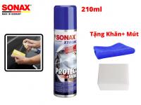 Dung Dịch Phủ Bóng Nano Bảo Vệ Sơn Xe Sonax Xtreme Protect Shine 222100 210ml Tặng Khăn Mút