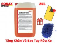 Nước rửa xe Sonax Car Shampoo 522705 25 lít
