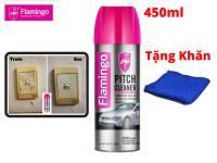 Tẩy Keo, Tẩy Nhựa Đường Flamingo Pitch Cleaner F012 450ml Tặng Khăn Lau