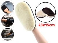 Bao Tay Rửa Xe Lông Cừu Mềm Mịn Găng tay Rửa Xe 23x15cm