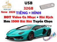 [32G] USB Nghe Nhạc Hình ,Nhạc Tiếng Cho Xe Hơi Nhạc Trẻ ,Video Hài Kịch ,Nhạc Bolero Mới Nhất 2020