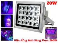 Đèn UV Sấy Keo UV 20W Hiệu Năng Thực Tế Uv 200W, Soi Tiền Khử Trùng UV