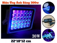 Đèn UV Led Sấy Keo UV 30W Hiệu Năng UV 300W, Soi Tiền Khử Trùng UV
