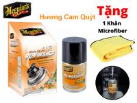 Xịt Khử Mùi Diệt Khuẩn Nội Thất Xe Hơi Meguiar's Tặng Khăn (có nhiều mùi hương)
