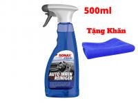 Chai Xịt Làm Sạch Khử Mùi Nội Thất Xe SONAX Xtreme Interior Cleaner 221241 Tặng Khăn