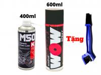 Combo Chăm Sóc Sên Chuyên Nghiệp Voltronic M50-K Và Lube71 Wow Tặng Bàn Chải